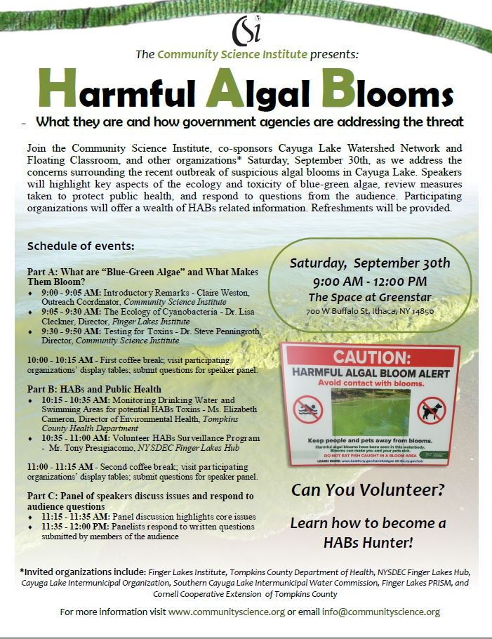 HABs Forum Flyer Pic